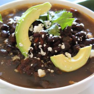 Black Bean Skinny Soup