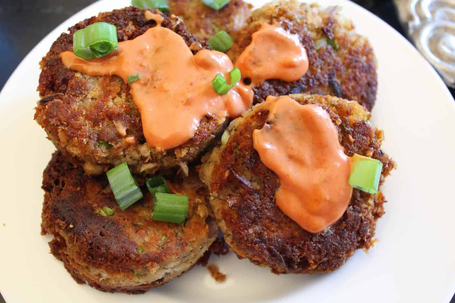 Salmon Croquettes with Remoulade Sauce