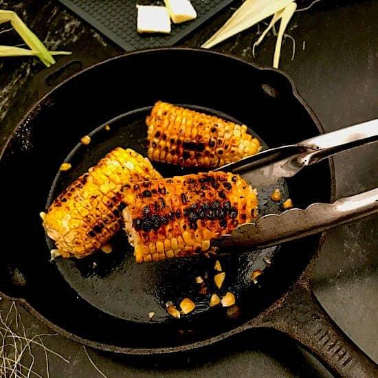 Pan Roasted Corn on the Cob
