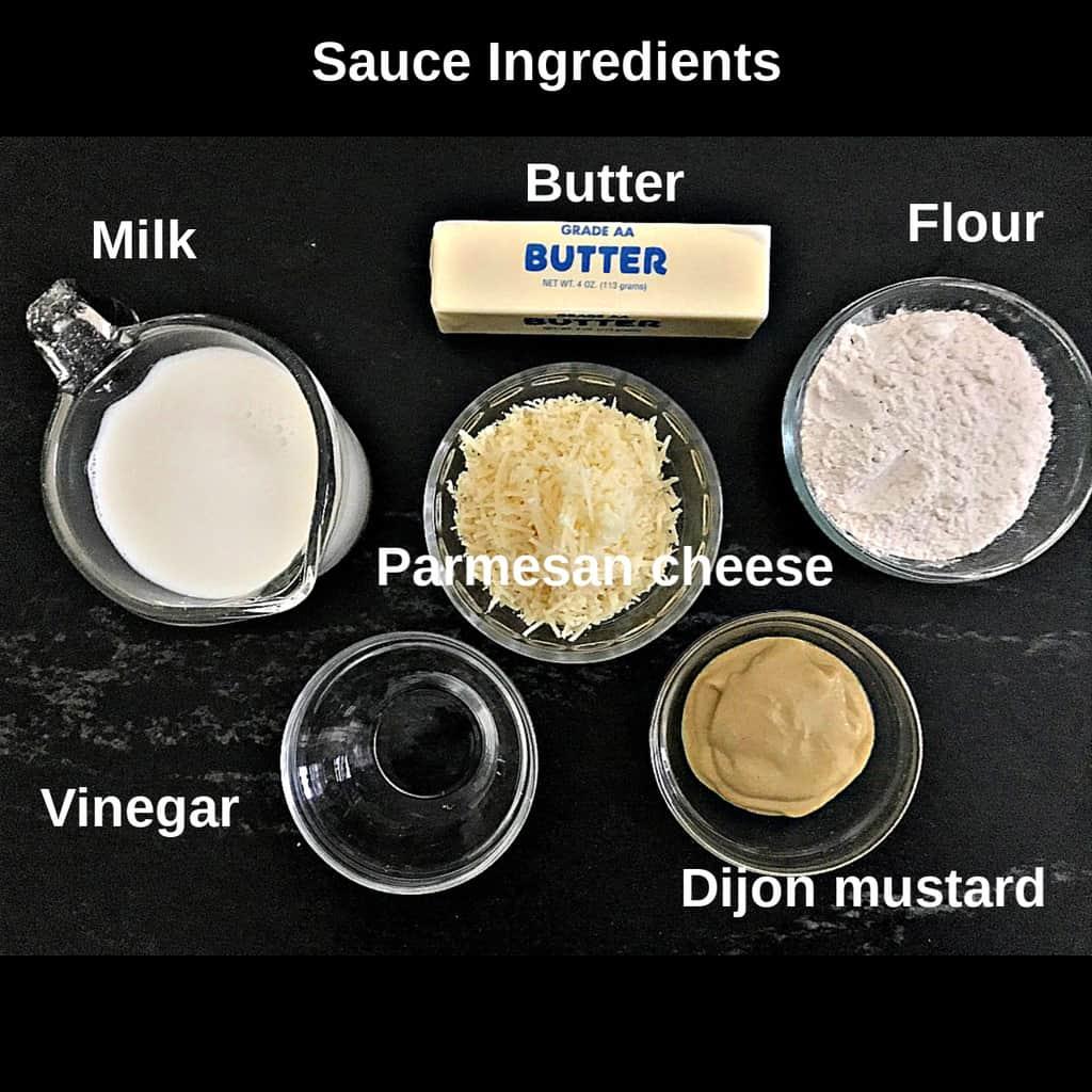 Visual image of sauce ingredients
