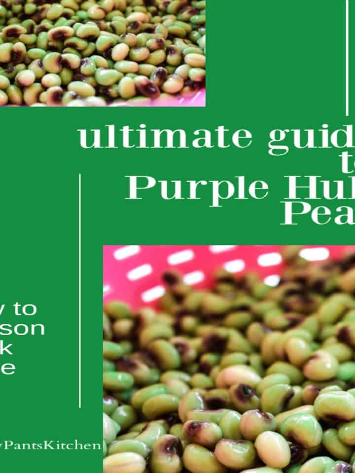 ultimate guide to purple hull peas