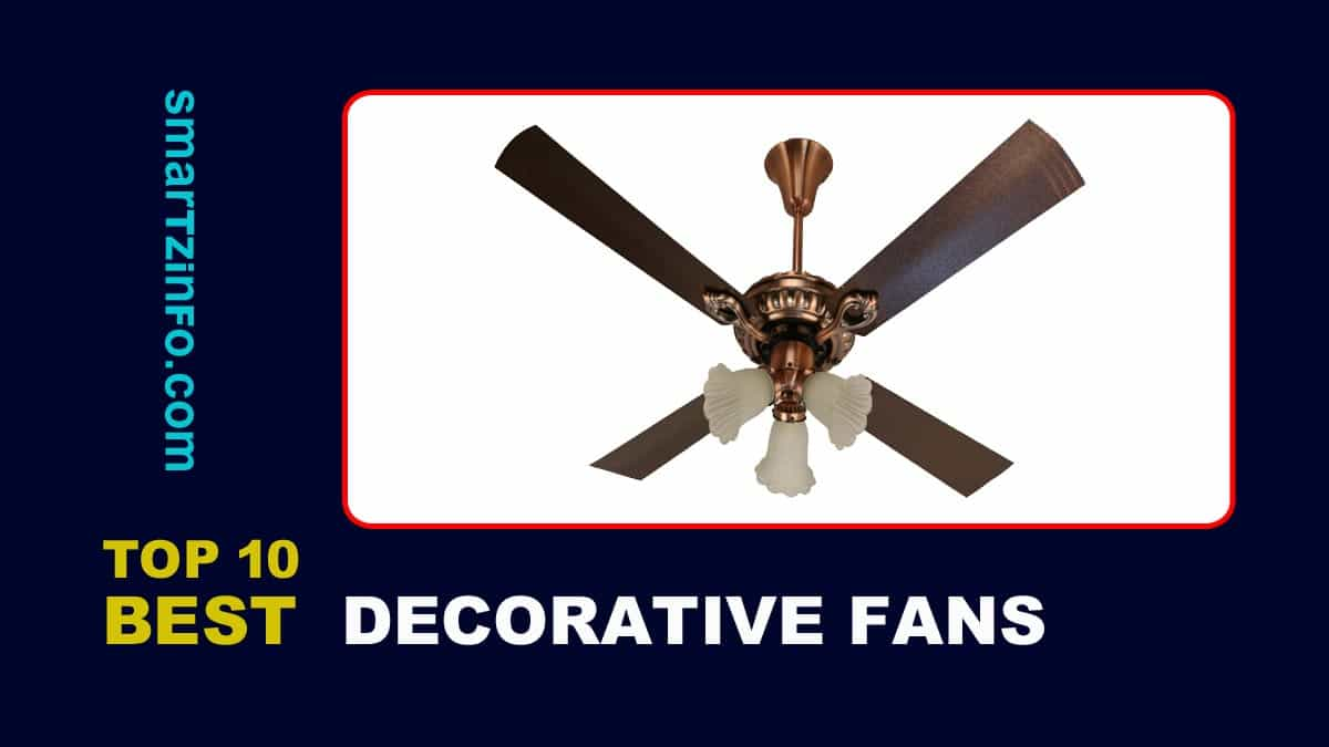 Best Decorative Fans In India