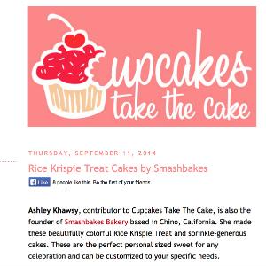 Cupcakes Take The Cake Rice Krispies
