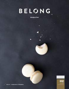 Belong Magazine Cover