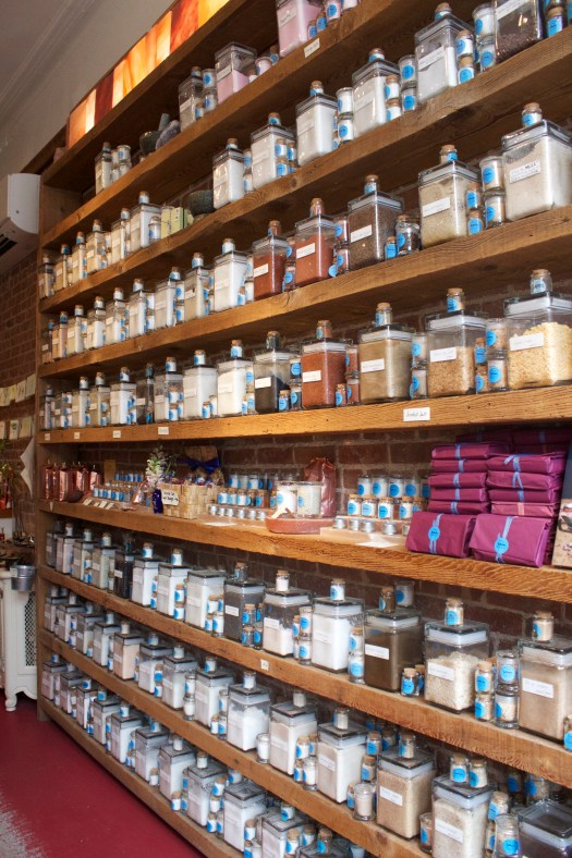 There are over 150 top quality artisanal salts from all over the world to choose from.