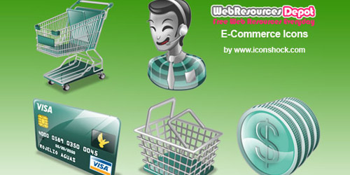 Ecommerce Icons Collection