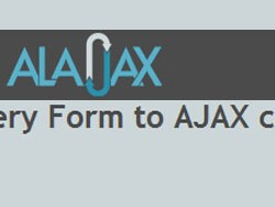 Convert HTML Forms to Ajax Forms with Alajax jquery Plugin