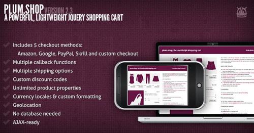JQuery Shopping Cart Plugin