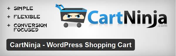 CartNinja - WordPress Shopping Cart