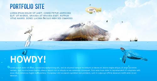 Seven Seas Portfolio website