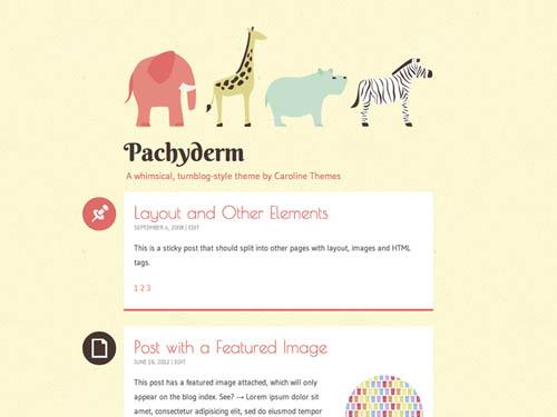 tumblr style wordpress themes 06 18 Free Awesome Tumblr Style WordPress Themes