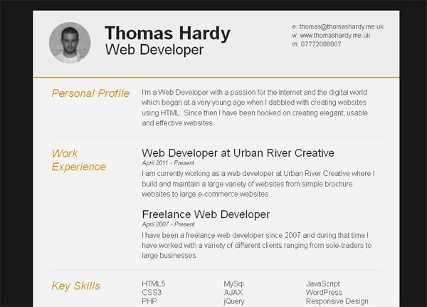 22 free creative resume template smashfreakz