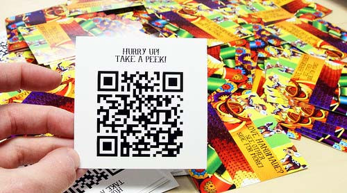 qr code business cards 07 50 Inspirational QR Code Business Cards