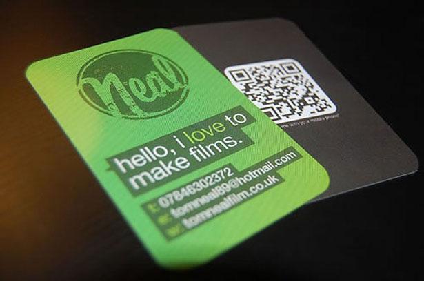 qr code business cards 14 50 Inspirational QR Code Business Cards