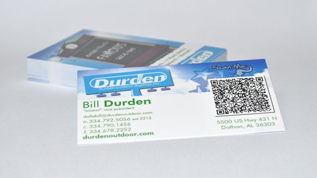 qr code business cards 47 50 Inspirational QR Code Business Cards