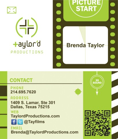 qr code business cards 49 50 Inspirational QR Code Business Cards