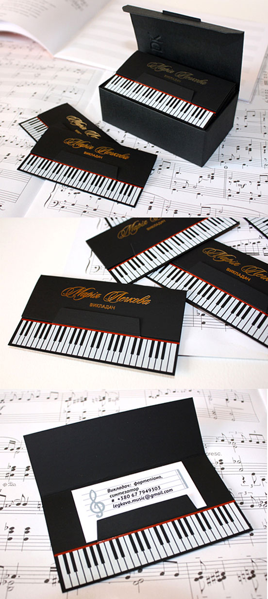 Clever-Die-Cut-Black-Business-Cards