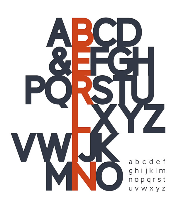 berlin 02 Berlin typeface by Antonio Rodrigues Jr Freebie #10
