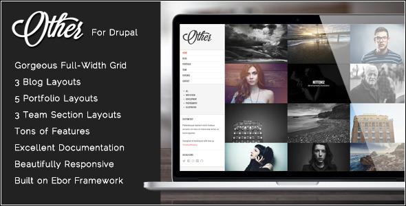 Photography Drupal Theme