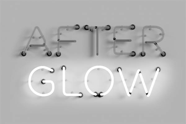 After Glow Neon Type