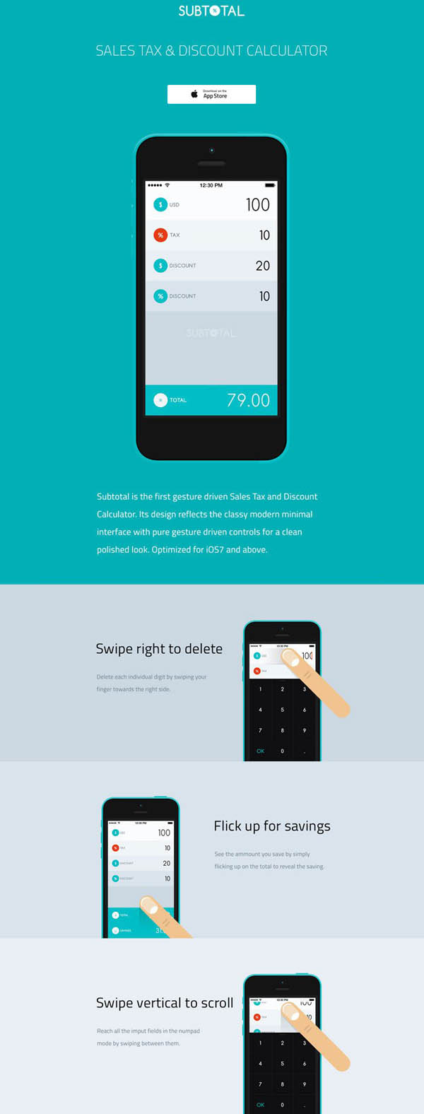 Subtotal-App