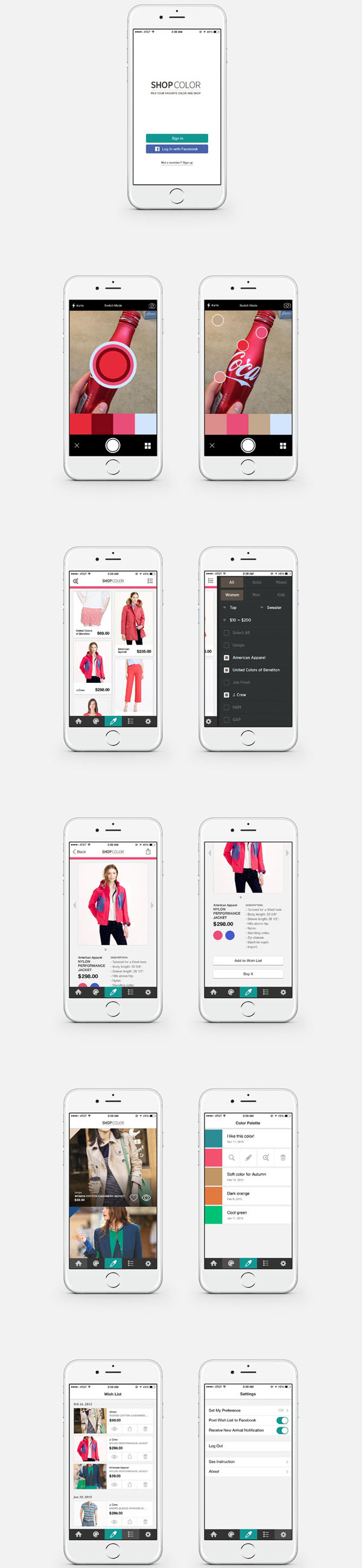 Shop-Color-App-Design