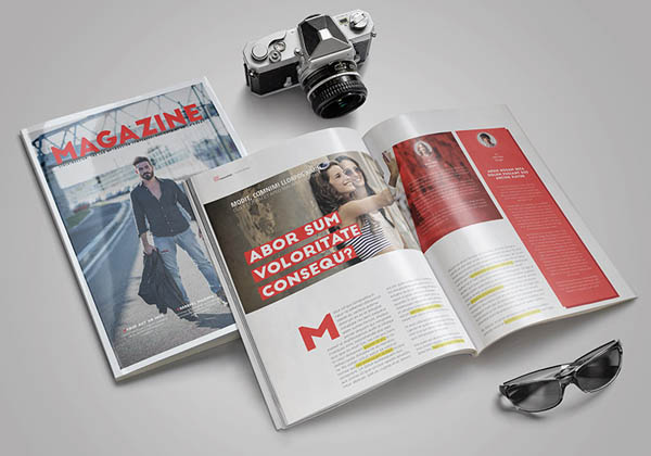 free indesign magazine templates projects image collections, Powerpoint templates