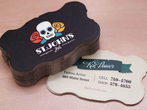 St. John's Ink Business Cards
