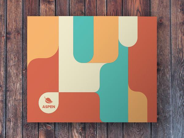 Flat Brochure Design 02