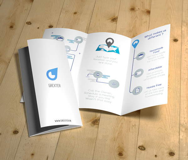 Flat Brochure Design 10