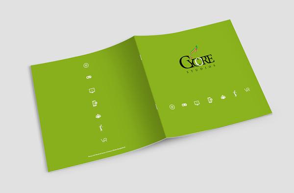 Flat Brochure Design 11