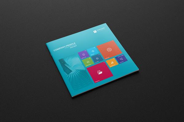 Flat Brochure Design 13