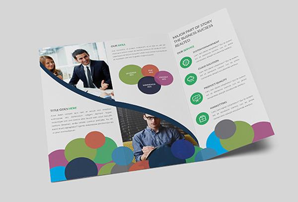 Flat Brochure Design 18