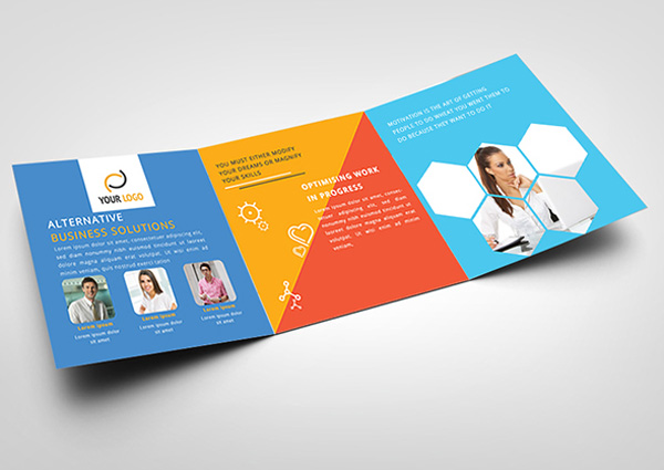 Flat Brochure Design 23