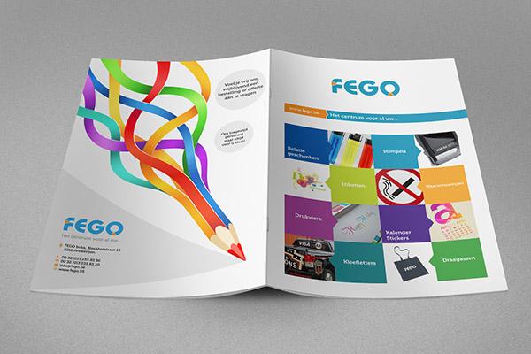 Flat Brochure Design 24