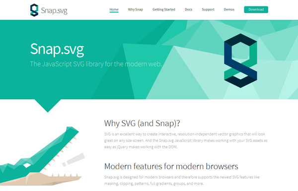 JavaScript Libraries for SVG Animation 10