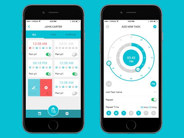Health App UI Design