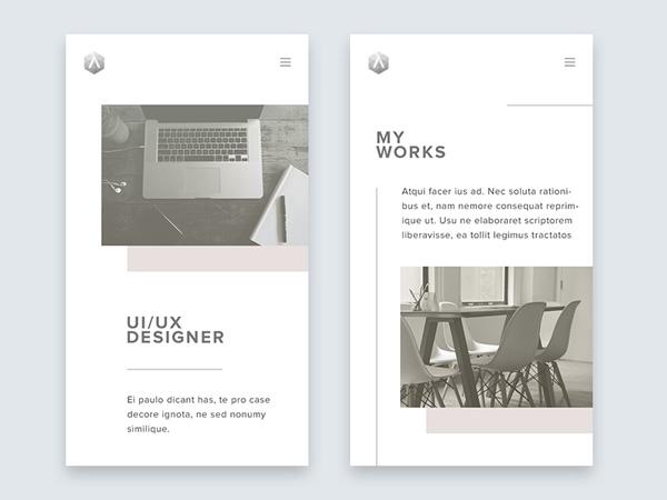 minimalist app ui 02