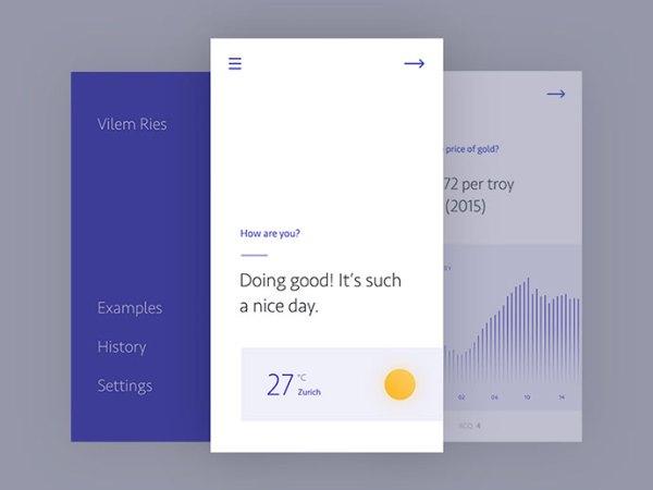 minimalist app ui 03