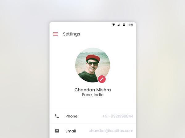 minimalist app ui 19