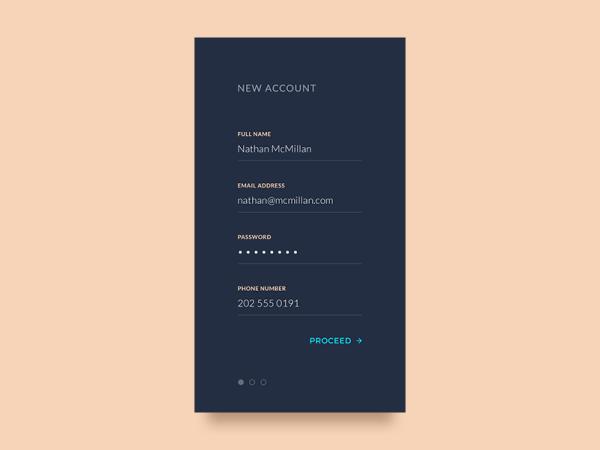 minimalist app ui 23