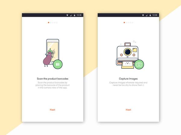 minimalist app ui 44