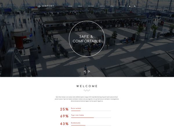 transportation drupal theme 05