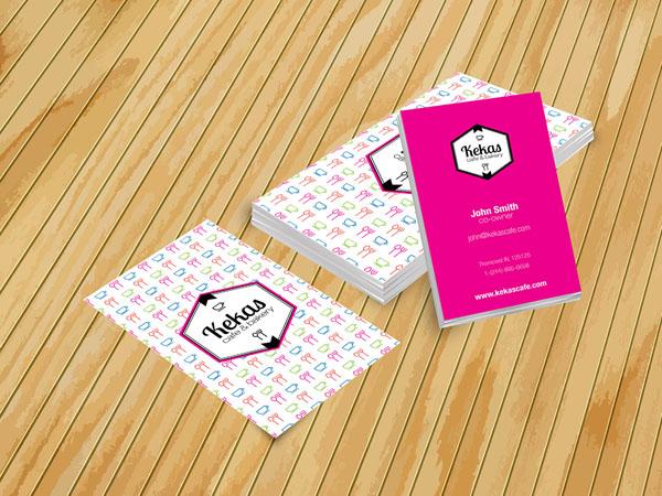 vertical business card mockup 08
