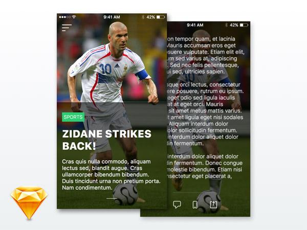 News App UI 11