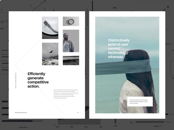 minimal brochure design 02