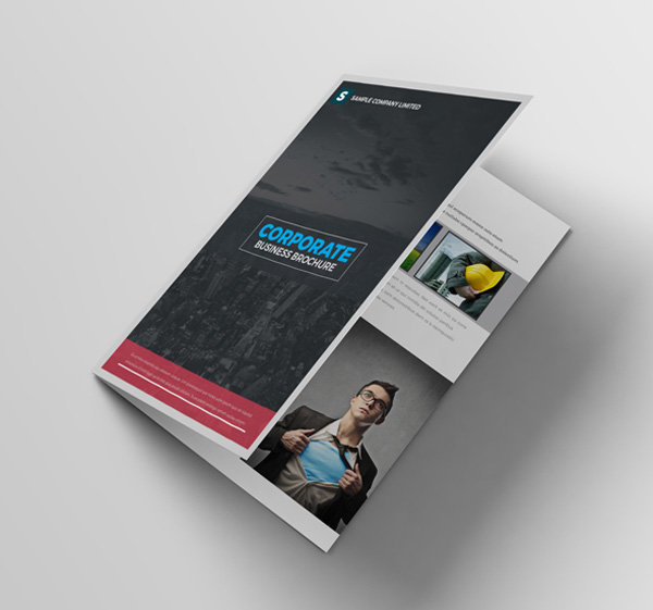 minimal brochure design 14