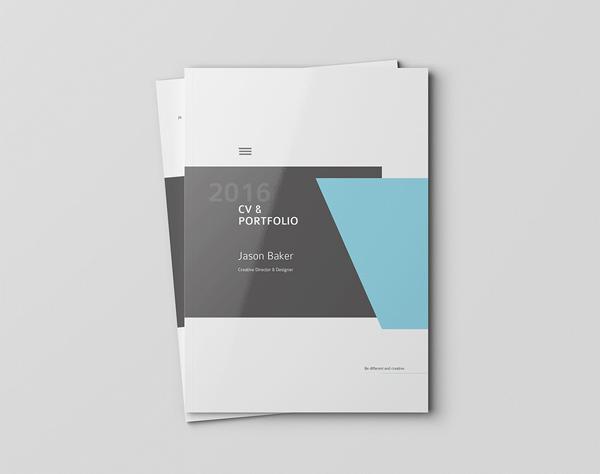 minimal brochure design 23