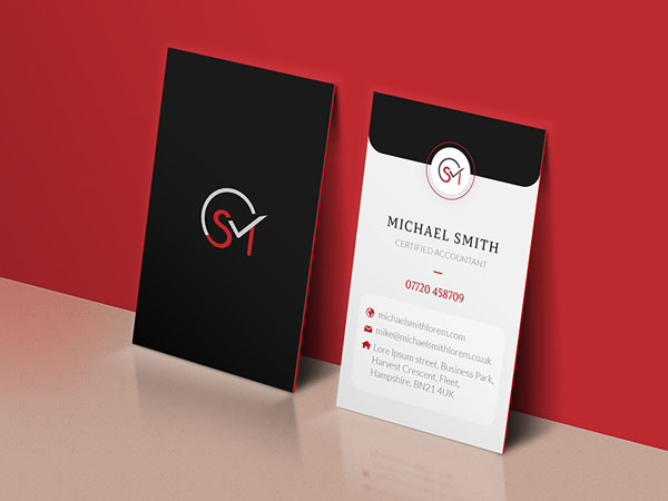 Accountant Business Card 01