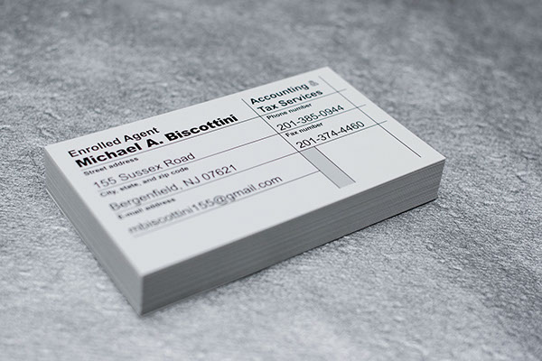 Accountant Business Card 06